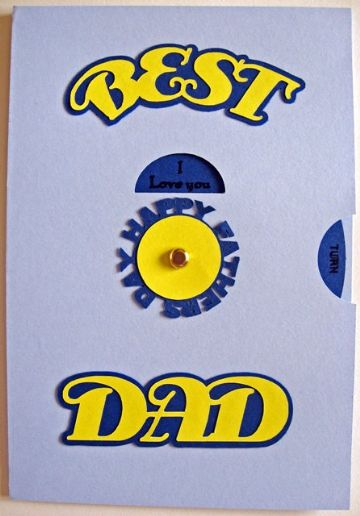Best Dad Kinetic Card